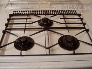 キッチンクリーニング ガスコンロ清掃後写真