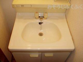 洗面台クリーニングアフター