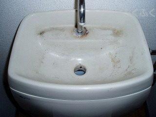 トイレクリーニング タンク上部ビフォー写真