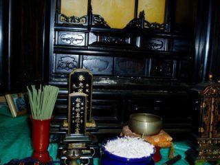 仏壇を掃除しよう1