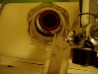 蛇口ハンドルの交換1