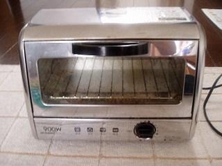 トースターの掃除1