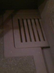 お風呂の排水口のお掃除1