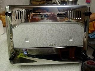 トースターの掃除12