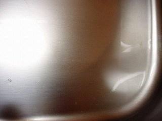 キッチンシンクを掃除18