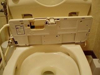 温水洗浄便座を掃除しよう2