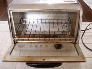 トースターの掃除2