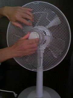 扇風機を掃除しよう3