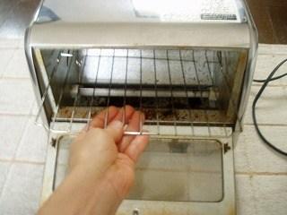 トースターの掃除3