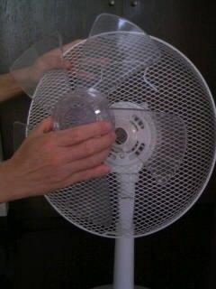 扇風機を掃除しよう4