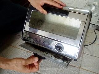 トースターの掃除4