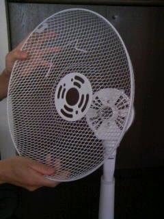 扇風機を掃除しよう6